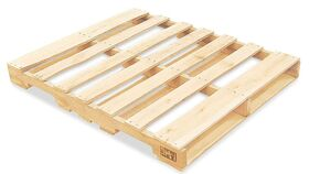 "Image of a 48"" x 48"" Wood Pallet"