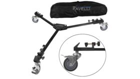 Image of a Ravelli ATD Professional Tripod Dolly For Camcorder Tripod