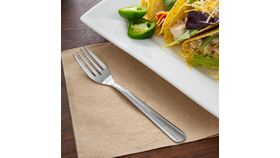 "6 1/8"" Stainless Steel Dominion Salad Fork image"