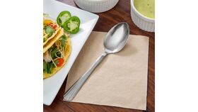 """7 5/8"""" Stainless Steel Dominion Table Spoon/Serving Spoon image"""