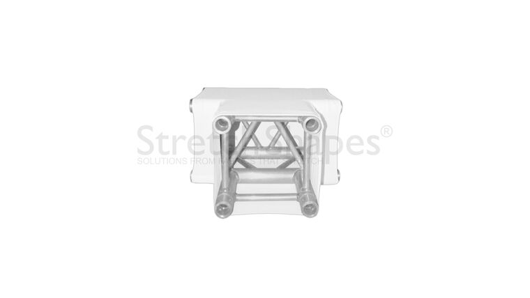 Picture of a 3-Way T 12″ Box Truss Corner Cover