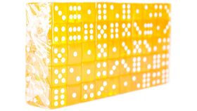 Accessory - 16mm Yellow Rounded Casino Dice image