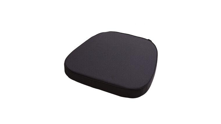Picture of a Black Chiavari Chair Cushion w/ Velcro Straps