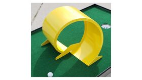 Image of a Metal 360 Loop Mini Golf Game Obstacle