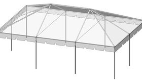 Image of a Frame Tent - 20' x 30' - White