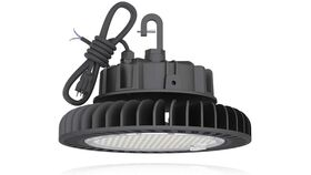 Image of a HYPERLITE LED High Bay Light | 28000LM( 200W )Dimmable High Bay LED Lighting | UL/DLC Approved | 5000K Commercial Lights | US Hook Included | Alternative to 850W MH/HPS