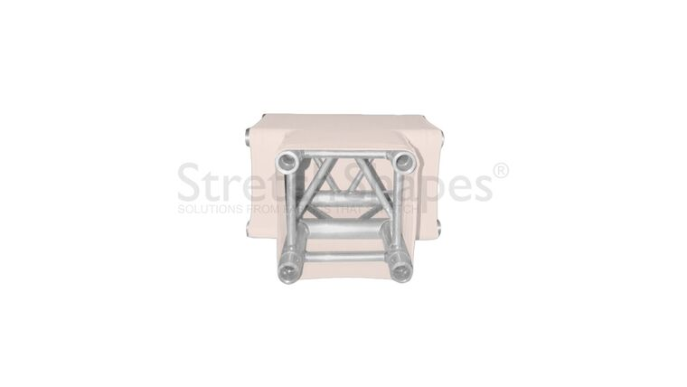 Picture of a 3 Way Tee Bone Spandex Truss Sleeve Cover Rental