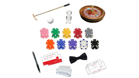 "Image of a 16"" Roulette Casino Game Table Accessory Kit Rental"