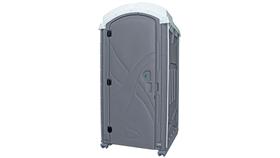 2 Stall Basic Portable Restroom Trailer Unit image