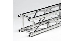 "Image of a 0.95' (0.29m) F34 Global Aluminum Silver 12"" Box Truss Rental"