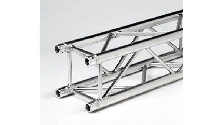 "Picture of a 0.95' (0.29m) F34 Global Aluminum Silver 12"" Box Truss Rental"