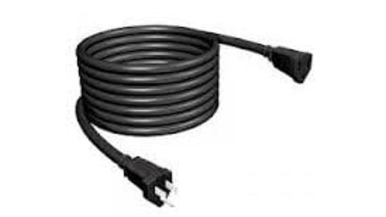 Picture of a 100' Black 14/3 AC Power Cable Rental