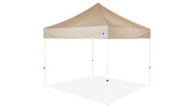 Image of a 10' x 10' Bone Ez Up Eclipse Pop Up Tent Rental