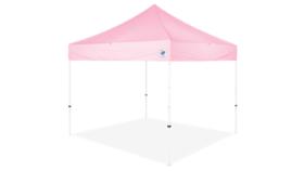 Image of a 10' x 10' Pink Ez Up Eclipse Pop Up Tent Rental