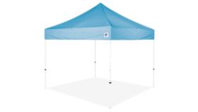 Image of a 10' x 10' Powder Blue Ez Up Eclipse Pop Up Tent Rental