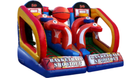 Image of a Basketball Shootout Inflatable Game Rental