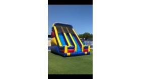 Image of a 22' Dual Lane Inflatable Slide Game Rental