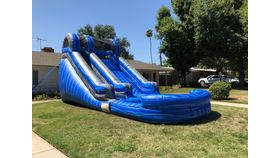 Image of a 14ft Blue Wave Water Slide