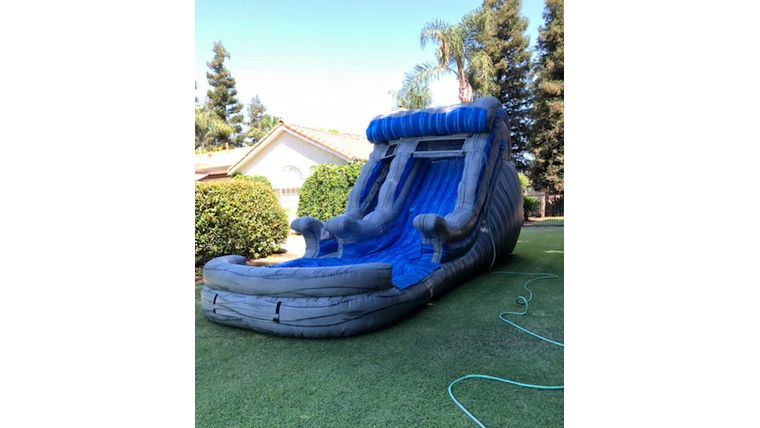 Picture of a 15' Marble Wave Water Slide Rental