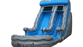 Image of a 18' Marble Wave Inflatable Water Slide Rental