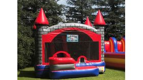 Image of a 3 n 1 Inflatable Castle Combo Rental