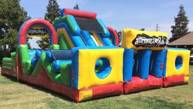 Image of a Adrenaline Rush II Inflatable Obstacle Course Rental