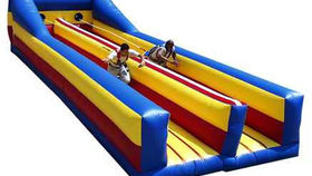 Image of a 2 Lane Bungee Run/Lane Inflatable Game Rental