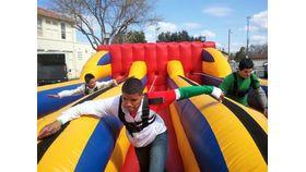 Image of a 3 Lane Bungee Run/Lane Inflatable Game