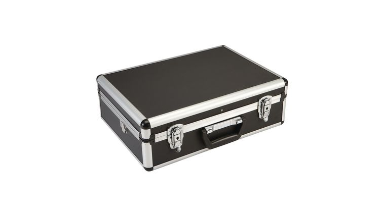 Picture of a 18 in. x 6 in. x 13 in. Black Hard Aluminum Case Rental