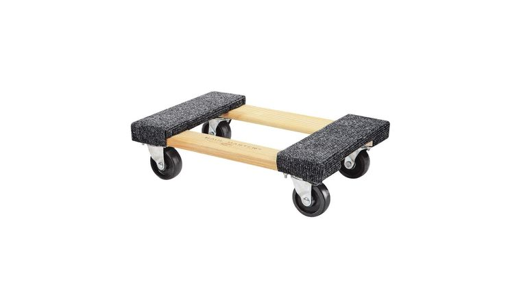Picture of a 18 In. x 12 In. 1000 lbs. Capacity Hardwood Movers Dolly