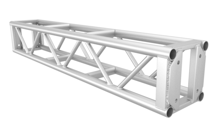 Picture of a 10' Xtreme Structures Silver Square Ladder Truss Rental