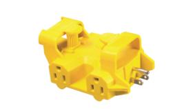 Image of a 5-Way Yellow Power Splitter Rental