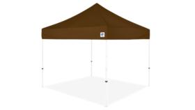 Image of a 10' x 10' Brown Ez Up Eclipse Pop Up Tent