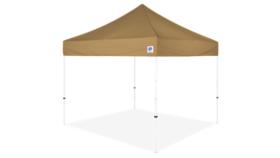 Image of a 10' x 10' Beige Ez Up Eclipse Pop Up Tent
