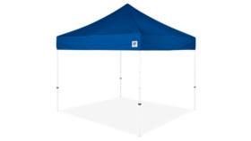 Image of a 10' x 10' Blue Ez Up Eclipse Pop Up Tent