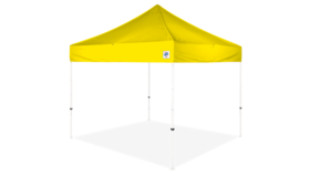 Image of a 10' x 10' Yellow Ez Up Eclipse Pop Up Tent
