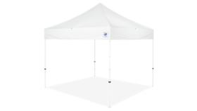 Image of a 10' x 10' White Ez Up Eclipse Pop Up Tent