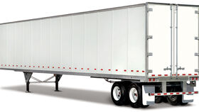 Image of a 48' Dry Van Enclosed Trailer
