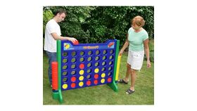 Image of a Giant ABS Plastic Connect 4 Game Rental