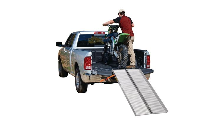 Picture of a 1200 Lb. Capacity 30-1/4 In. X 72 In. Convertible Aluminum Loading Ramp