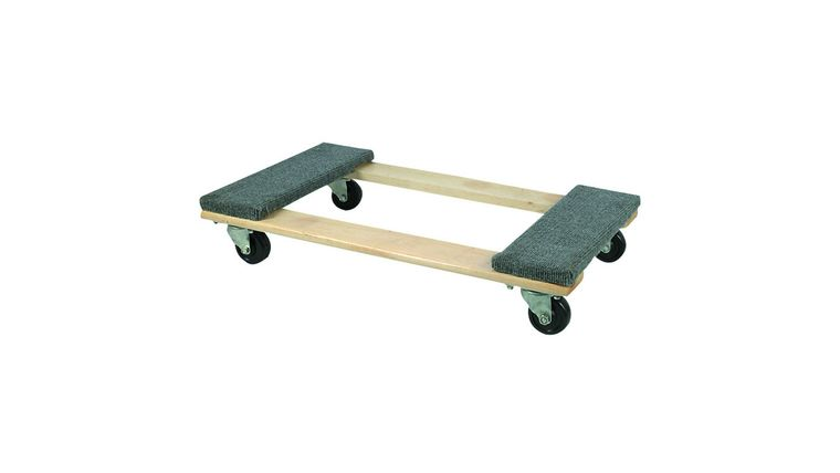 Picture of a 30 In X 18 In 1000 Lb. Capacity Hardwood Dolly
