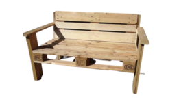 Image of a 5' Pallet Bench - Natural