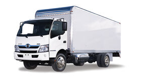 Image of a 16' Gas Box Truck w/Lift Gate