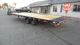 Image of a 22' Deck Over Trailer Stage Deck Only Rental