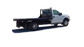 Image of a 14' Diesel Flatbed Truck Rental