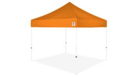 Image of a 10' x 10' Orange Ez Up Eclipse Pop Up Tent