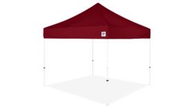 Image of a 10' x 10' Burgundy Ez Up Eclipse Pop Up Tent