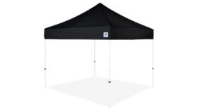 Image of a 10' x 10' Black EZ UP Express II Pop Up Tent