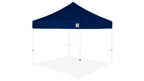 Image of a 10' x 10' Navy Blue Ez Up Eclipse Pop Up Tent