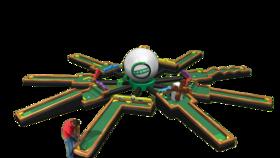Image of a Inflatable 9 Hole Mini Golf Course